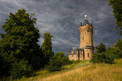 Flatow Tower in Babelsberg Royalty Free Stock Photo