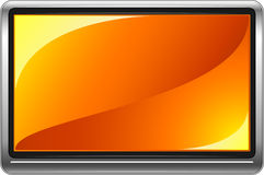 Flatpanel Widescreen HD TV Royalty Free Stock Photography