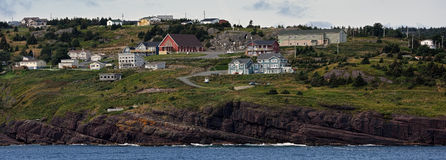 Flatrock town in Newfoundland and Labrador Royalty Free Stock Image