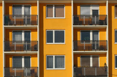 Flats. Block of flats stock photos