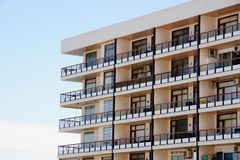 Flats. Block of flats in Torremolinos, Spain Royalty Free Stock Images
