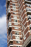 Flats apartments block england Stock Image