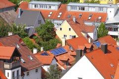 Flats. Block of Flats in Kempten, Bavaria, Germany, Europe Stock Image