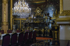Flats Napoleon III bij het Louvre royalty-vrije stock foto's