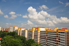 Flats in Singapore Stock Photo