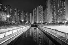 Flats van Hongkong royalty-vrije stock foto
