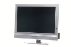 Flatscreen left Royalty Free Stock Photo