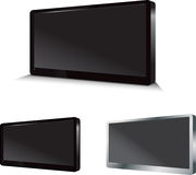 Flatscreen Monitor Stock Images
