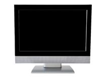 Flatscreen monitor Royalty Free Stock Image