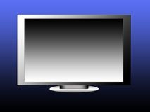 Flatscreen monitor Stock Photo