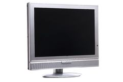 Flatscreen right Royalty Free Stock Photography