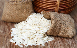 Flattened rice Royalty Free Stock Image