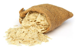 Flattened rice of South East Asia Stock Photography