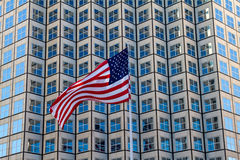 Flattering USA Flag Stock Images