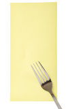 Flatware fork Royalty Free Stock Images