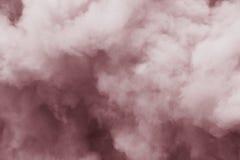Flaumige Rauchwolken stockfotos