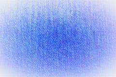 Flaumiger flockiger Hintergrund des blauen Textilsamt-Gewebes in den weichen Tönen mit beleuchteten Rändern stockbilder