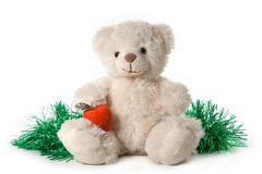 Flaumiger Teddybär Stockfotografie