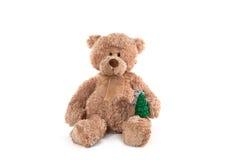 Flaumiger Teddybär Lizenzfreie Stockfotos