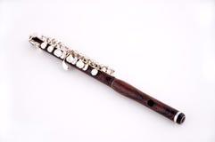 Flautín en el fondo blanco imagen de archivo