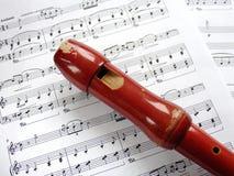 Flauta Foto de Stock