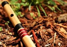 Flauta de Bansuri imagem de stock royalty free