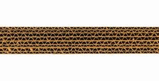 Flauta ondulada do cartão Foto de Stock