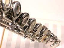 Flauta velha Fotografia de Stock