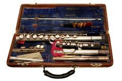 Flauta vieja Foto de archivo libre de regalías
