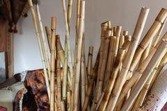 Flautas turcas de la caña del ney imágenes de archivo libres de regalías