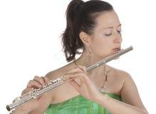 flautist Στοκ Εικόνες