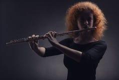 Flautist Royalty Free Stock Photos