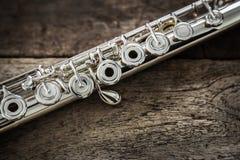 Flauto moderna di concerto Fotografia Stock Libera da Diritti