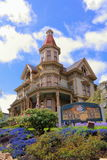 Flavel House Museum in Astoria, Oregon Stock Photography