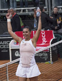 Flavia pennetta wins fed cup brindisi Stock Photo