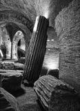 Flavian amfiteatr (Pozzuoli) Zdjęcia Stock