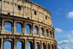 Flavian amphitheater (Colosseum), Rome Stock Image