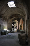 Flavian Amphitheater (Pozzuoli) Stock Afbeelding
