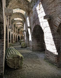 Flavian Amphitheater (Pozzuoli) Royalty Free Stock Photos
