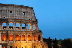 Flavian amphitheatre (Colosseum), Rome Royalty Free Stock Images