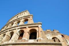 Flavian Amphitheatre or Colosseum in Rome Stock Photos