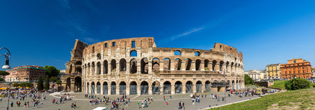 Flavian Amphitheatre (Colosseum) in Rome Stock Photography