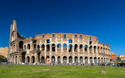 Flavian Amphitheatre (Colosseum) in Rome, Italy Stock Photo