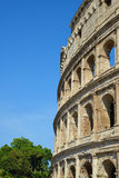 Flavian Amphitheatre or Colosseum in Rome Stock Images