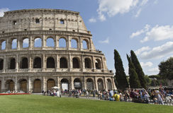 Flavian Amphitheatre Royalty Free Stock Photography
