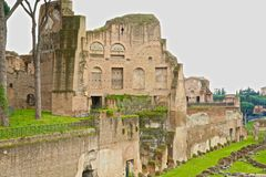 Flavian Palace ruins Rome Stock Images