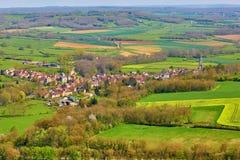 Flavigny-sur-Ozerain Burgundy, Γαλλία στοκ φωτογραφία