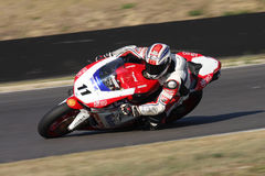 Flavio Augusto Gentile - Ducati 1198R - Althea Royalty Free Stock Photos