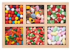 Flavor candies Stock Photography