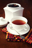 Flavored black tea Royalty Free Stock Photography